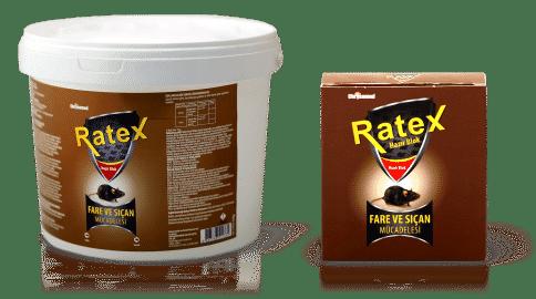 Chrysamed Ratex Fare ve Sıçan Mücadelesi için Hazır Blok