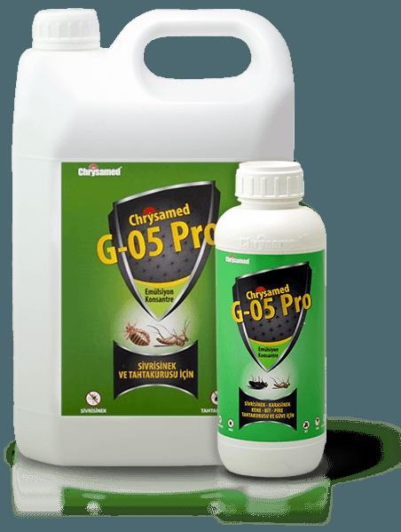 Chrysamed G-05 Pro Sivrisinek ve Tahtakurusu için Konsantre böcek ilacı