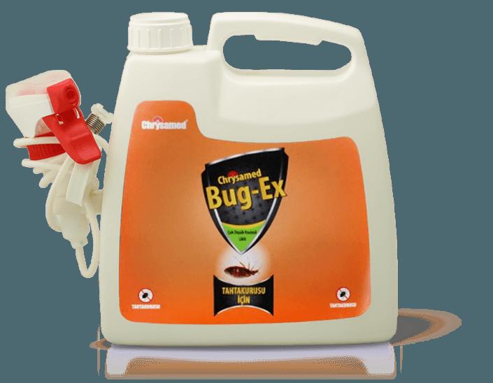 Chrysamed Bug-Ex Tahtakurusu için Böcek ilacı 2.5 Litre