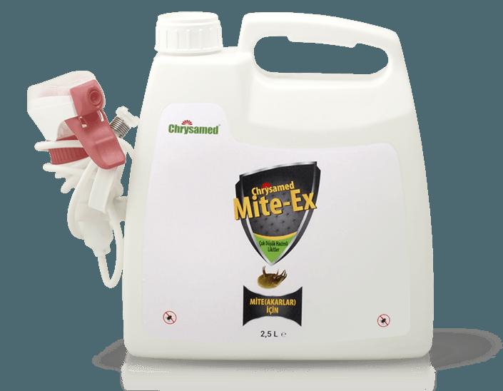 Chrysamed Mite-Ex Mite Böcek İlacı 2.5 Litre
