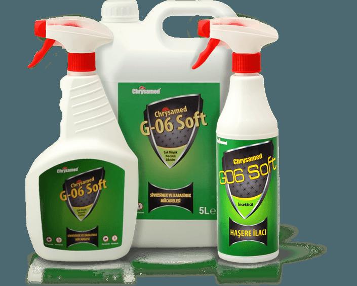 Chrysamed G-06 Soft Likit Sivrisinek ve Karasinek için Böcek İlacı