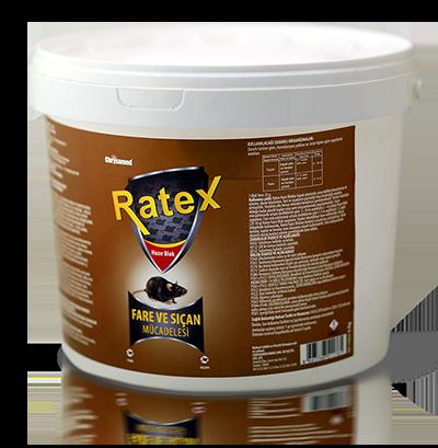Ratex Hazır Blok Fare Yemi 5kg
